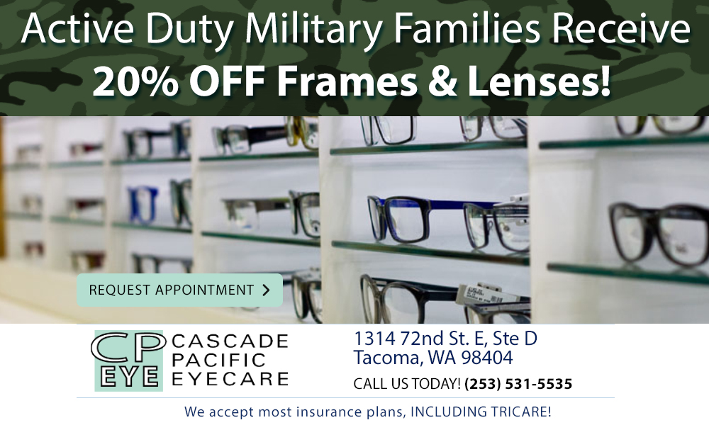 Cascade Pacific Eyecare Military Special